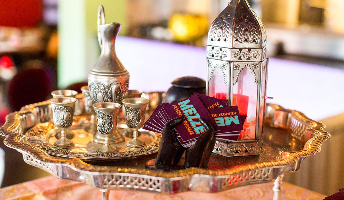 Luncharrangementen bij Mezze